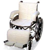 Sheepskin Wheelchair Covers
