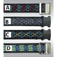 Geo-Pattern Gait Belts