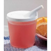 Plastic Cup with Lid  - Each