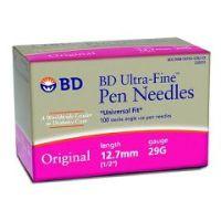 BD Ultra-Fine Original Insulin Pen Needle. - Box of 100