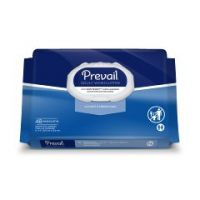 """Prevail® Adult Disposable Washcloth Wipes - Soft Pack Press-N-Pull Lid - 8"""" x 12"""""""
