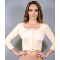 Zippered Female Vest with Sleeve