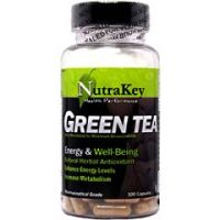 Nutrakey Green Tea Extract Herbs Supplement 100 Capsules - Each