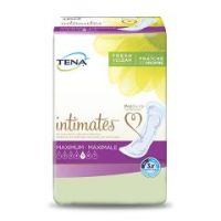 TENA Intimates Adult Disposable Heavy-Absorbent Bladder Control Pad, 6 X 14 Inch - Case of 84