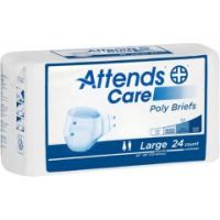 """Attends Care Poly Briefs - Medium 32"""" - 44"""" - Pack of 24"""