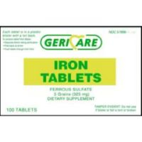 Iron Tablets - 5 gm - Bottle of 100