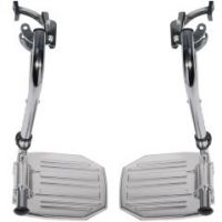 Sentra Swing Away Footrests by Drive Medical - 1 pair