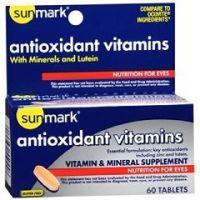 Sunmark Antioxidant and Zinc Tablet - Bottle of 1