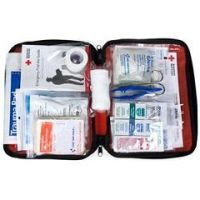 Be Red Cross Ready First Aid Kit Red - Red