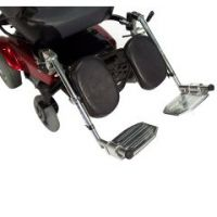 Power Wheelchair Elevating Legrest Bracket with Hemi Spacing - Power Wheelchair Elevating Legrest Bracket with Hemi Spacing