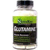 Nutrakey Glutamine Amino Acid Supplement 100 Capsules - Each