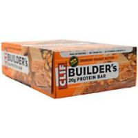 Clif Builder's Protein Bar - Crunchy Peanut Butter - Pack of 12