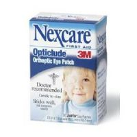 """NEXCARE  Opticlude Oval Eye Patches - 3-1/4 x 2-1/4"""", Regular - Box of 20"""