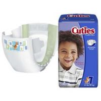 Cuties Baby Diaper Size 7 - Size 7 - Case of 80