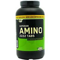 Optimum Nutrition Superior Amino 2222 Tabs - Bottle of 320