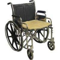 """Medical Sheepskin Wheelchair Seat Pad - 18"""" x 16"""" - Each"""