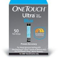 OneTouch Ultra Diabetic Test Strips - Blue