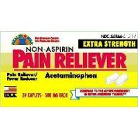 Apap Rapid Release Gel Caps -  500 mg - Each