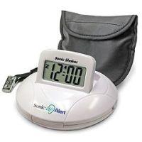 Sonic Shaker SBP100 - Portable Vibrating Travel Alarm Clock  - Each