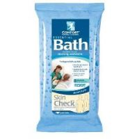 Essential Bath Fresh Scent Bath Wipes Soft Pack 8 Count