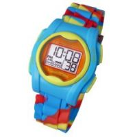 Global VibraLITE MINI Vibrating Watch with Multicolor Silicone Band - Each