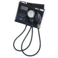 MABIS Legacy Aneroid Sphygmomanometers with Black Nylon Cuff for Adult - Adult - Box of 1