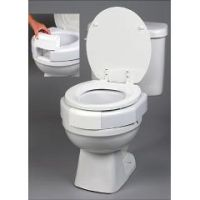 Secure-Bolt Elevated Toilet Seat - Raised Toilet Seat - Toilet Seat Risers