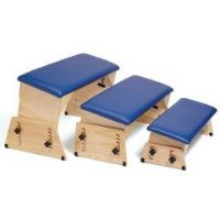 Sammons Preston Adjustable Padded Therapy Benches with Angled Seats
