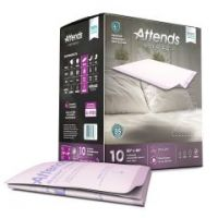 Attends® Premier Incontinence Underpads - Premium Overnight Protection
