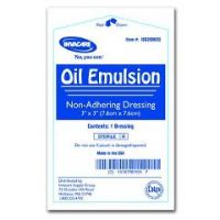"Invacare Oil Emulsion Dressing – 3""X8"""