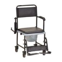 Nova Drop-Arm Transport Chair & Commode - Each