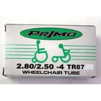 """Standard Inner Tube with Standard Valve - 24 x 1 3/8"""" (1 1/4"""") - 1 pair"""
