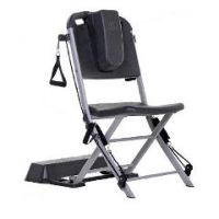 Resistance Chair Exercise and Rehabilitation System - Black