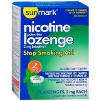 Sunmark Nicotene Lozenge