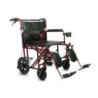 "Lightweight Bariatric Transport Chair - Ultralight Plus , 22"" Wide"