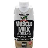 CytoSport Muscle Milk Collegiate - Vanilla Creme - Pack of 12