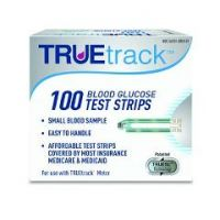TRUEtrack Blood Glucose Test Strips 100-Count - Box of 100