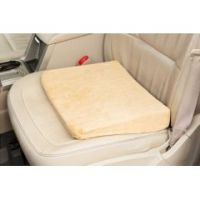 Memory Foam Seat Riser With Velour Cover
