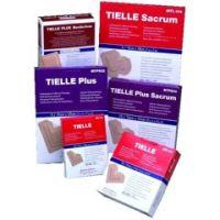 "TIELLE PLUS Hydropolymer Adhesive Dressing - 4 1/4"" x 4 1/4"""
