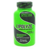 Species Nutrition Lipolyze - Bottle of 90