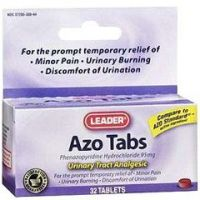 Leader Azo Analgesic Tablets 30 Count - Box of 1