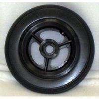 """3 Spoke Urethane Round Wheel - 6 x 1 1/4"""" - 1 pair"""