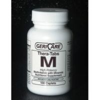 Gericare Theratabs M Multivitamin Supplement with Minerals