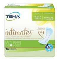 TENA Intimates Ultra Thin Adult Disposable Light-Absorbent Bladder Control Pad, 9 Inch Length