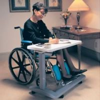 Deluxe Overbed Table / Wheelchair Desk - Each