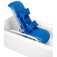 Reclining Bath Chair With Safety Harness, Small To 100 Lb. - Reclining Bath Chair With Safety Harness, Small To 100 Lb.