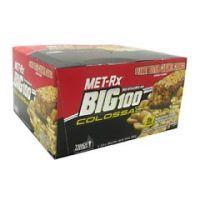 MET-Rx Big 100 Colossal - Peanut Butter Caramel Crunch - Pack of 9