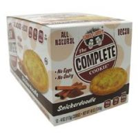 Lenny & Larry's All-Natural Complete Cookie - Snickerdoodle - Pack of 12