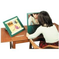 Glassless Mirror, Free-Standing, 12 X 16 Inch Panel - Glassless Mirror, Free-Standing, 12 X 16 Inch Panel
