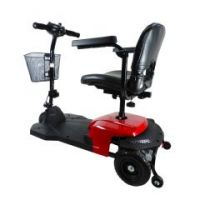 Drive Bobcat X3 3 Wheel Transportable Scooter - Red - Red